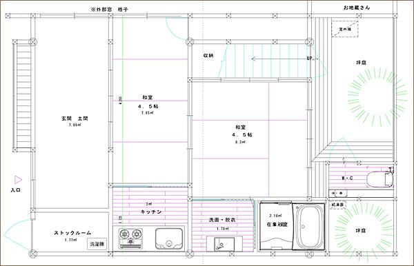 1階の図面
